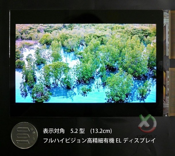 JDI-5.2-inch-Full-HD-OLED-panel-610x545