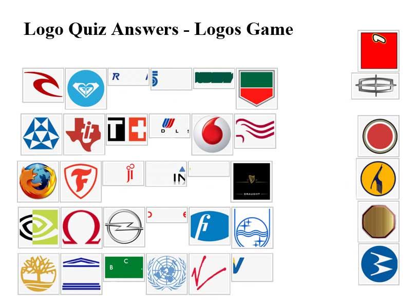 Answers Logo Quiz Level 1  LogoQuizHelpcom