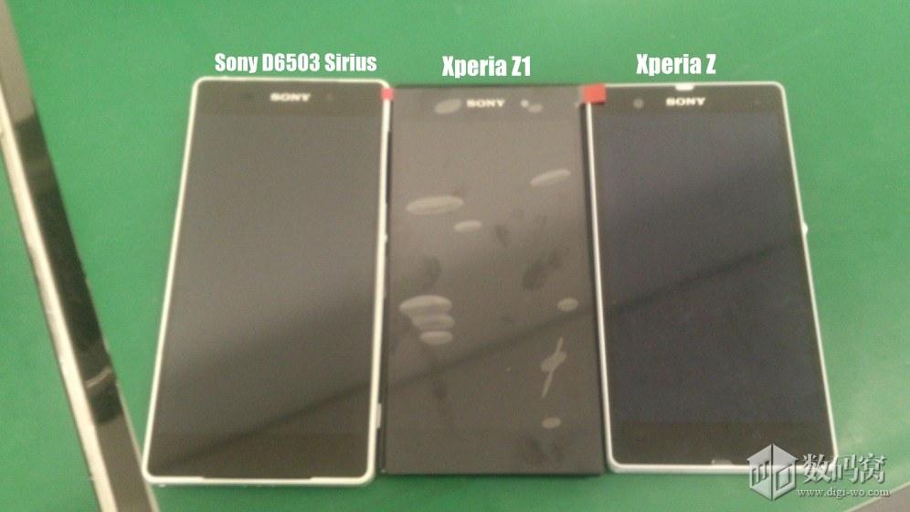 Sony-D6503-Sirius-vs-Xperia-Z1-vs-Xperia-Z-Real-Pics-Comparison