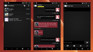Xperia-Z2-black-themed-Message-app