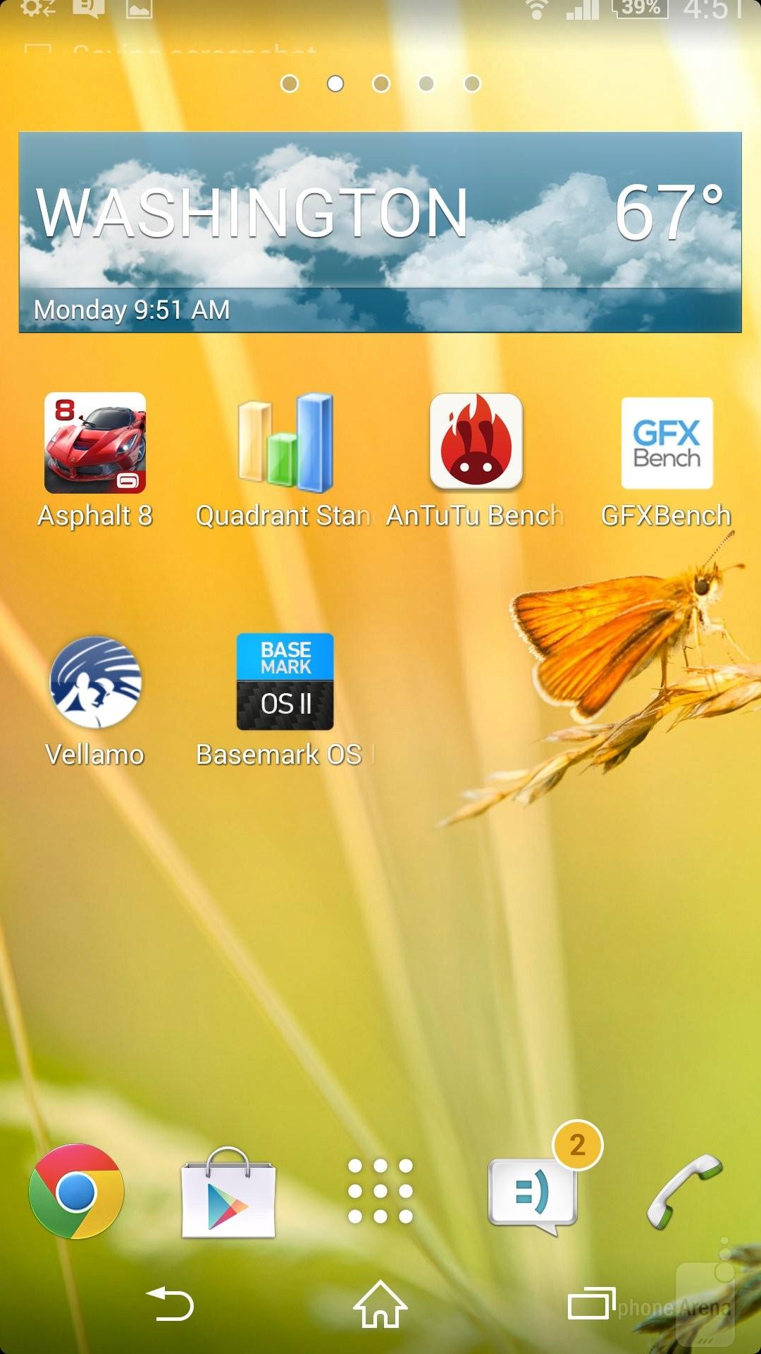 لانچر سامسونگ جی 5 دانلود لانچر رسمی اکسپریا Z2 پورت شده برای دستگاه های اکسپریا