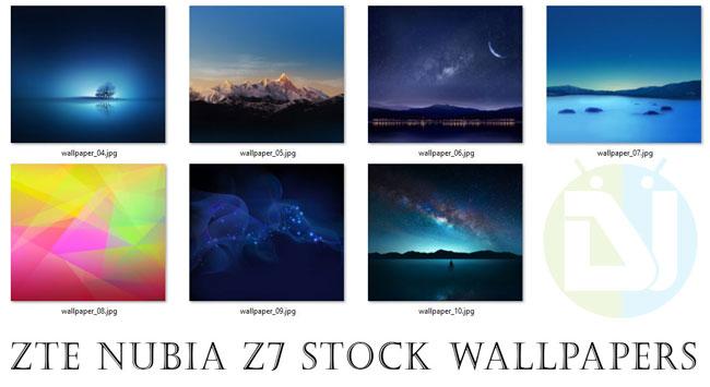 ZTE Nubia N3 Stock Wallpapers: دانلود مجموعه والپیپرهای رسمی ZTE Nubia Z7 با سایز Full HD