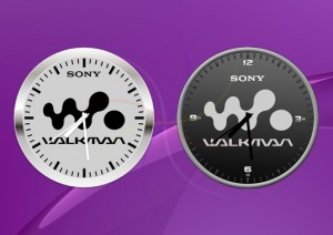 Sony-Widget-Clock-Walkman-app