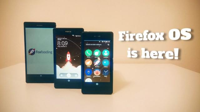 اولین نسخه سیستم عامل Firefox برای چند مدل از گوشی های اکسپریا منتشر شد
