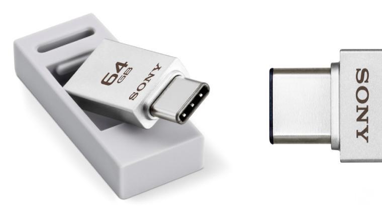 سونی از فلش مموری هایِ USB 3.1 جدید خود با کانکتورهایِ نوع A و C پرده برداشت