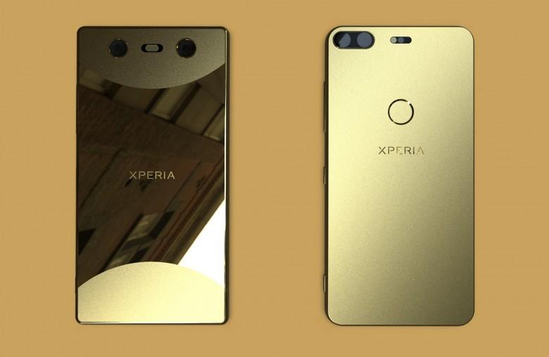 دو طرح مفهومی از طراحی آینده گوشی های سونی