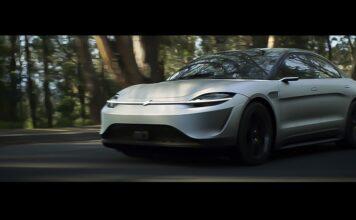 سونی اتومبیل خودران Vision-S را در جاده های توکیو تست می کند