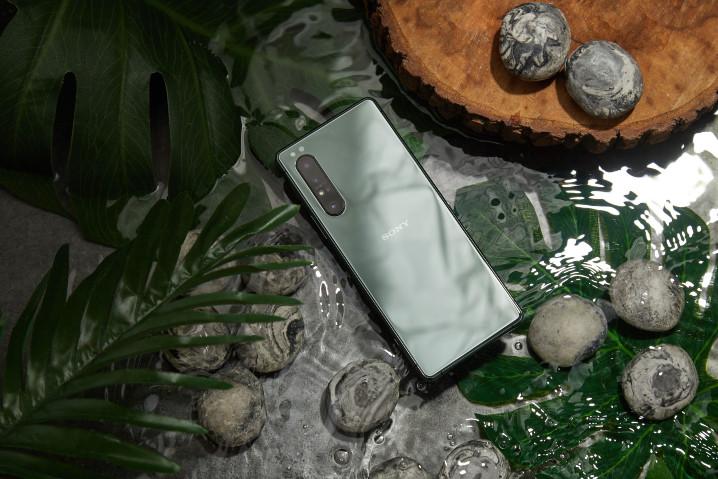 نسخه سبز دریاچه ای از گوشی اکسپریا 1 مارک 2 با حافظه رم بیشتر در راه تایوان