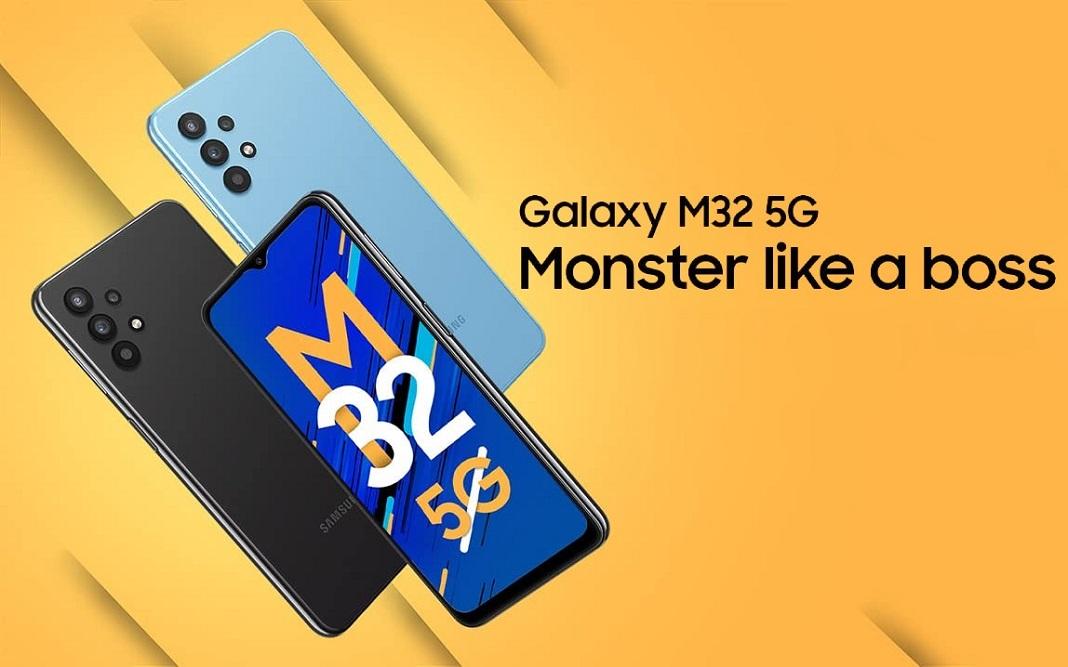 سامسونگ از گوشی میان رده جدیدش گلکسی M32 5G رونمایی کرد