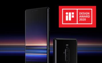 گوشی سونی اکسپریا 1 برنده جایزه بهترین طراحی مراسم iF Design 2020
