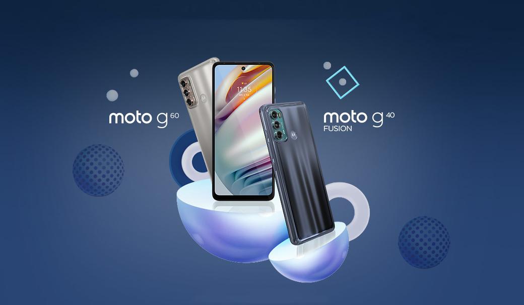 گوشی های موتورولا Moto G60 و G40 معرفی شدند؛ ارزان ترین 108 مگاپیکسلی بازار
