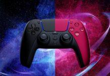 سونی کنترلر های دوال سنس را در دو رنگ مشکی و قرمز به نمایش گذاشت
